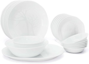 Corelle Gold Pack of 21 Dinner Set  sc 1 st  Buyhatke : corelle dinnerware india - Pezcame.Com