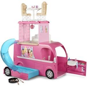 Barbie Pop Up Camper Vehicle Multicolor Best Price In India Barbie