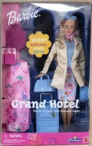 Barbie Grand Hotel Doll With Suitcase Multicolor Best Price In India