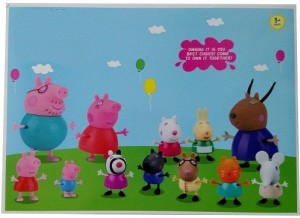 Switch Control Peppa Pig Family And Friends Action Figure Set Of 12multicolor