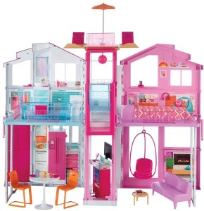 Barbie Town House 2016 Pink Best Price In India Barbie Town House