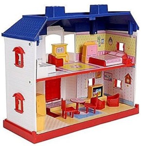 Smiles Creation Country Doll House Set Toy For Kids Multicolor Best