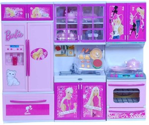 Turban Toys Barbie Vogue 3 Kitchen Set Best Price In India Turban