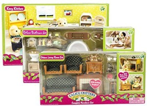 Calico Critters Gifts Calico Critters Deluxe Bathroom Set Kozy - Calico critters bathroom