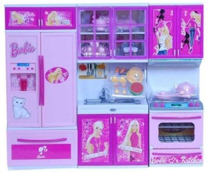 Trinetra Enterprise Barbie Kitchen Set Multicolor Best Price In