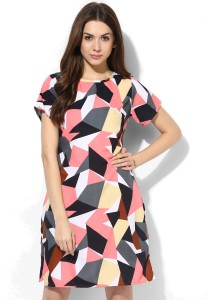 The Bebo Women's Gathered Multicolor Dress