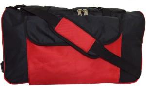 Tangerine Wheel & Straps and Handles Travel Duffel Bag