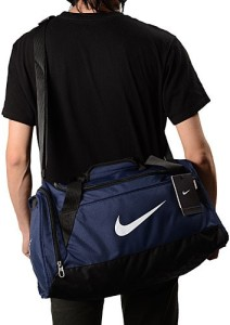 bfe470e561 Nike Brasilia 6 Duffel Bag EXTRA SMALL Travel Duffel Bag Blue Best ...