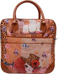Ruff Digital Printed Women's Duffle Bag 14 inch/38 cm (Expandable) Travel Duffel Bag