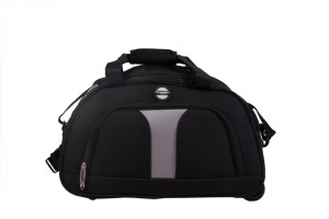 Euro Style Eurostyle Travel Gear 7076-B-20 Wheel Duffle Bag 20 inch/50 cm (Expandable) Travel Duffel Bag