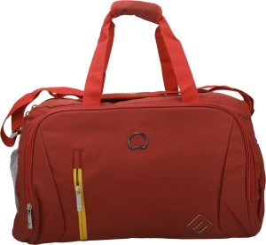 Delsey Gateway Soft 65Cm Red Medium Duffel Bag Travel Duffel Bag