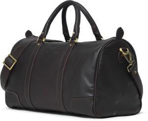 ed06e4770ea6 Leather Zentrum T103 17 inch 45 cm Travel Duffel Bag Brown Best ...