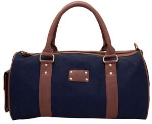 Yelloe Rugged Denim 17 inch/43 cm Travel Duffel Bag