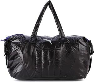 7ac801708ccc Puma Gym Bag White Black Best Price in India