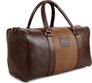 ... The Clownfish The Clownfish Brown Duffle Bag (Deluxe) 18 inch45 cm Travel  Duffel BagBrown . ... f45bb5d68b608