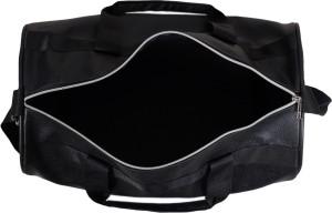 b8ccc753e8fa03 Dee Mannequin Vivacious Black Leather Rite Gym Bag Black Kit Bag ...