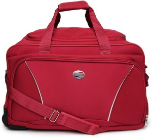 American Tourister Vision (Expandable) Duffel Strolley Bag ( Red ) 84edab3efa95f