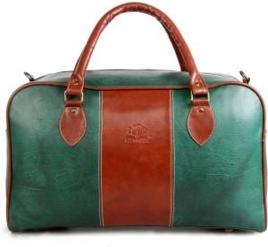 The Clownfish Artificial Leather Duffel Luggage Cabin Bag Travel Duffel Bag