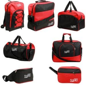 Fidato Unisex Nylon   Polyester Set Of 7 Travel Bags Combo 19 inch 50 cm b374c19892b56