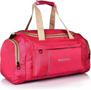 a8c015b5ca15 Suntop Alive Travel Gym Fitness Travel Duffel Bag ( Pink Beige )