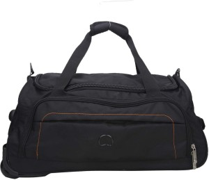 Delsey Urban Soft 55Cm Black Small Duffel Bag Travel Duffel Bag