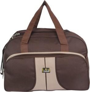 United Bag Brown Duffle Travel Duffel Bag