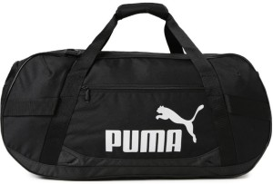 609ecd4858c3 Puma Active TR Duffle Bag M Travel Duffel Bag Black Best Price in ...