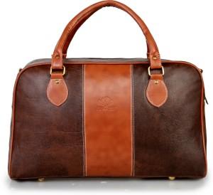 The Clownfish Unisex Weekender Travel Duffle Bag (Brown) 24 inch/60 cm Travel Duffel Bag