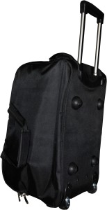 One Up ExpandableBlackTrolleyBag 23 inch/58 cm (Expandable) Travel Duffel Bag