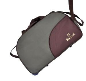 213a9fcd3 Saccus Duffle Trolley Bag 24inch 24 inch 60 cm Duffel Strolley Bag Green  Brown Best Price in India | Saccus Duffle Trolley Bag 24inch 24 inch 60 cm  Duffel ...