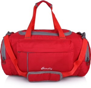 64a68a4a25 Bendly Vibrant Series Travel Duffel Bag Red Best Price in India ...