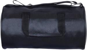 Dee Mannequin Vintage Black Leather Rite Gym Bag