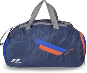 Nivia Dominator Multi Purpose Bag Medium Travel Duffel Bag Blue Best ... 7a69b7b9658ee
