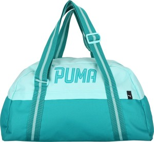 50fe95b916 Puma Fundamentals Sports Bag Female Gym Bag Green Best Price in ...