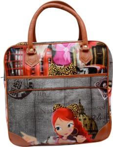 Ruff Digital Printed Women's Duffle 11 inch/30 cm (Expandable) Travel Duffel Bag