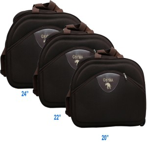 e81b8cd95 GOYMA Canvas Polyester 20 22 24 Inches Travel Duffle Bag Pack Of 3 ...