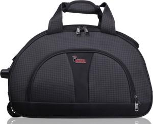 F Gear 2383a 22 inch 55 cm Travel Duffel Bag Grey Black Best Price ... d47386cf05f78