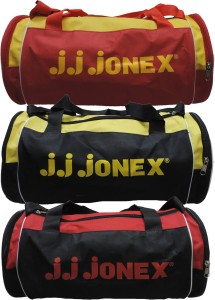 JJ Jonex combo of 3 vibrant 18 inch/45 cm Travel Duffel Bag