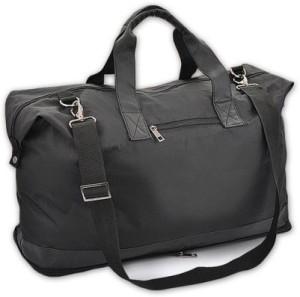 Jazam Folding Leatherette Flight cabin size compliant 20 inch/50 cm (Expandable) Travel Duffel Bag
