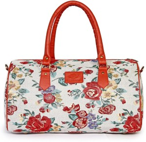 The Clownfish Floral Tapestry Duffle Bag Travel Duffel Bag ... 171a1efcf341d
