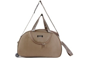 One Up ExpandBrownDDuffle 20 inch/50 cm (Expandable) Travel Duffel Bag