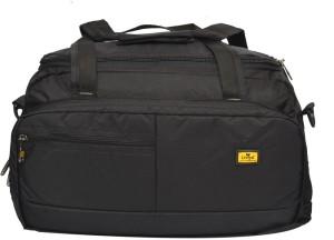 Liviya bt434 20 inch 50 cm Expandable Travel Duffel Bag Black Best ... 9e7fd7ec7686e