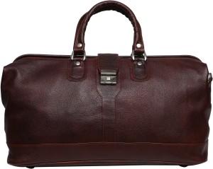 C Comfort Genuine Leather Small Travel Bag 22 inch/56 cm Travel Duffel Bag