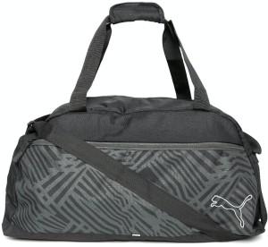 cc2a857e59 Puma Printed Travel Duffel Bag Black Best Price in India