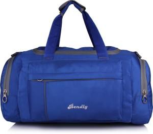85f5ef0a37 Bendly Vibrant Series Travel Duffel Bag ( Blue )