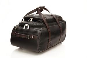 Mboss Multi Use Faux leather Unisex Black Small Travel Bag  - Medium