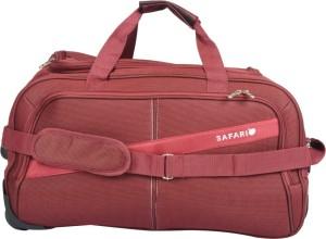 Safari Tridex Rdfl 22 inch/55 cm Duffel Strolley Bag