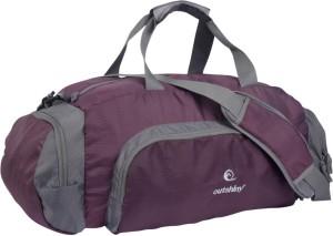 Outshiny Sleek Maroon Bag Travel Duffel Bag