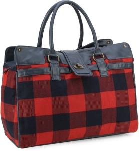 United Colors of Benetton Tartan check duffle bag Travel Duffel Bag