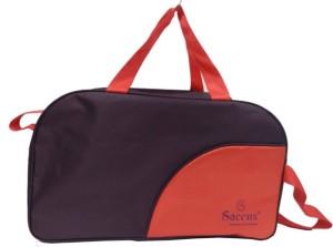 Saccus Duffle Trolley Bag 20inch (Wine & Red) Duffel Strolley Bag